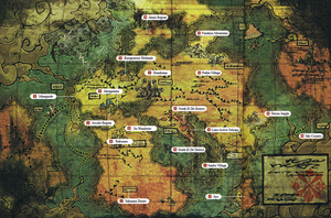 Monster Hunter Official Map by Pike-Styles