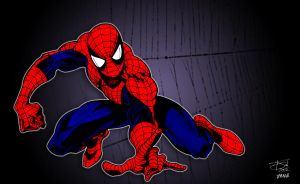 Spider-Man - Web by pascal-verhoef