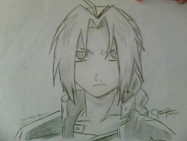Edward Elric by 24strokes
