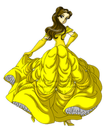 Belle by PhinyxRose