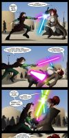 Commission: Clash of Sabers by Niban-Destikim
