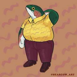 mr fish by bearcow96