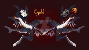 (Hallow's Toll) Gold in the Water [closed] by burrdog