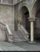 FREE STOCK - Gothic Staircase by ArtReferenceSource