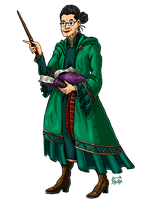 Professor McGonagall by Erikku8