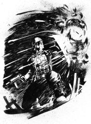Captain America Commission by JeffStokely