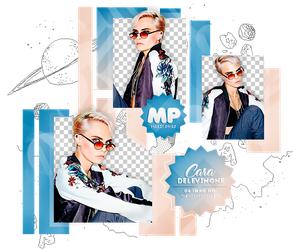 PACK PNG 1114| CARA DELEVINGNE. by MAGIC-PNGS