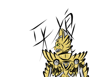 GARO the Golden Knight by Drgn12