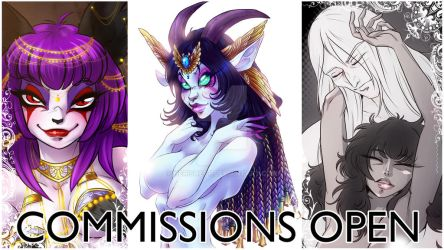 COMMISIONS 2019 by Herisheft