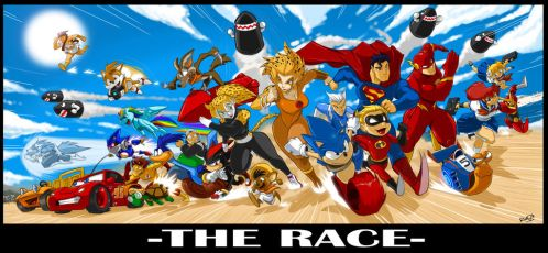 THE RACE FOR WHO'S FASTEST (Now on YouTube) by ShoNuff44