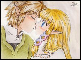 Remake Kiss Zelink SS by zilia-k