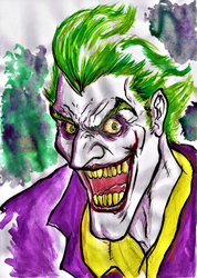 joker water color by nic011