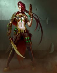 Steampunk Character Design by JonathanGragg
