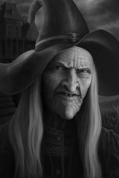 Portrait of a Witch by Noitusan