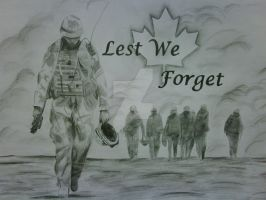 Lest We Forget by Luxaji