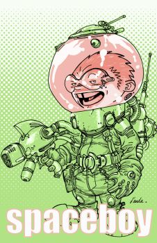 SpaceBoy by Chuckdee