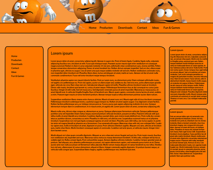 First site MnM Template by Freeze1992
