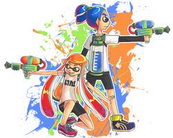 Splatoon by mikokur