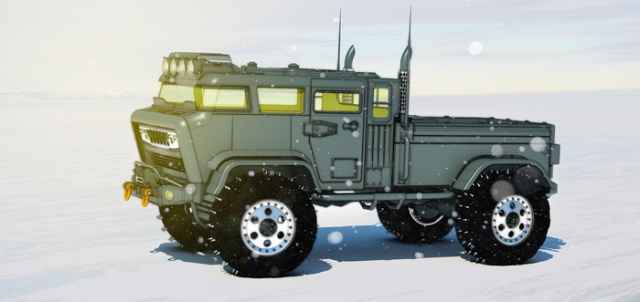 Tuff Truck Bravo (snow shot) by aconnoll