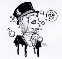 Inktober day 1 : Poisonous by Ullow