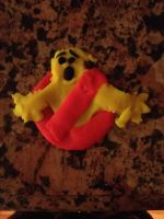 GB Logo out of Play-doh by Ghostbustersmaniac