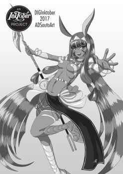 Caster: Nitocris by ADSouto