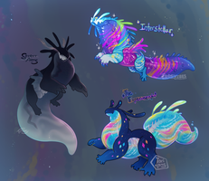 [CLOSED] Deep Space Bath-o-snap Auction by Skelefrog