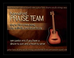 Praise Team Recruitment by ecpowell