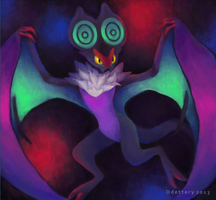 Noivern by Odettery