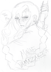 Try Me :Pencil Sketch: by Serene-SimpliciT