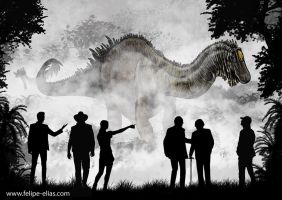 Welcome to Jurassic Park by paleoarqueiro