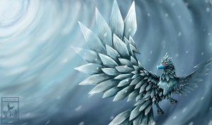 Anivia - I Bring the Storm by Elycian
