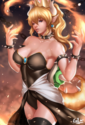 Bowsette by ExLic