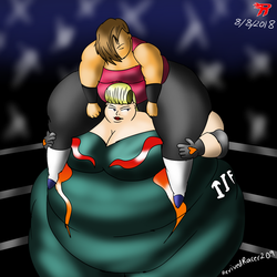 Tiffany gives her opponent a lift by Revivedracer209