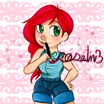 My New Icon (R0salin3) by 7H47-0N3-N3RD