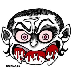 3 teeth - Vampire by Manu-2005