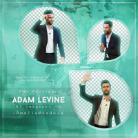 Adam Levine PNG Photopack by LoveEm08