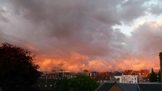 Sunset@Brussels by Dynamisa