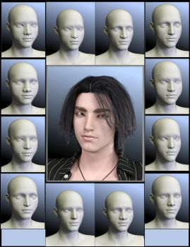 Sneak Preview: SY Faces of Asia Genesis 8 Male by SickleYield