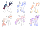 [OPEN 6/6] pony adopts by Impawsibl