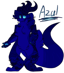 Azul The BaeBoo by Perma-Fox