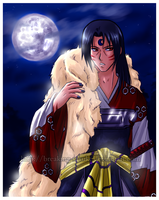 Itachi as Sesshomaru by BreakingSasuke