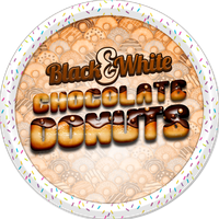 Black and White Donuts by Echilon