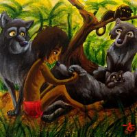55 Classic Disney Movies Collab - The Jungle Book by Tabascofanatikerin