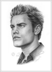 Paul Wesley Vampire Diaries by Zindy