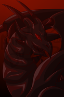 Red-Eyes Black Dragon by jay-blrd