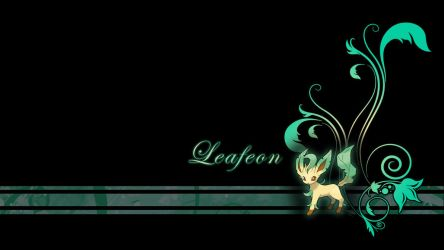 Leafeon Plant Wallpaper by Wild-Espy