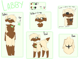 Labby Reference Sheet 2016 by miinkke