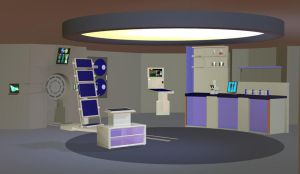 NX Style Sick bay props Poser by jaguarry3