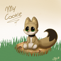 Pucho haz a cookie by Tomthebaker